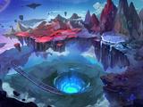 Demon World - Burning Canyon