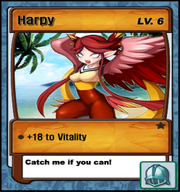 Lvl 6 - Harpy