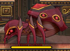 Frostland - Giant Arachnia