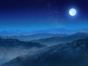 Moonlight Yokai Village BG