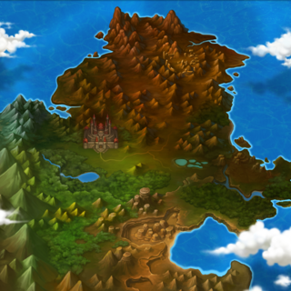 Mapa de Canaban sem Ícones