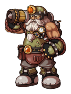 New Monster Hero– Steel Dwarf Engineer