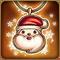 闪亮的圣诞老公公项链1 m
