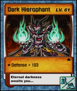 Dark Hierophant Card