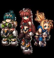 Dina, Sena and Mona