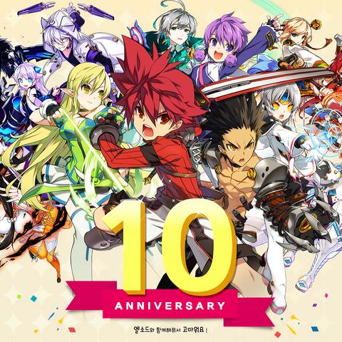 10th Anniversary promotional artwork.