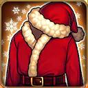 閃亮的聖誕老公公制服1 m