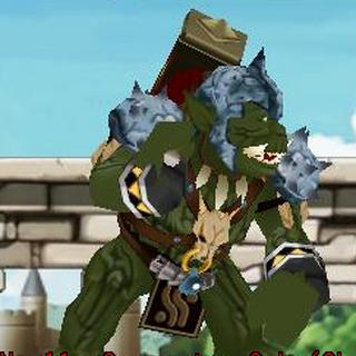 O <b>Guerreiro Oak</b> como o chefe dos <a href=