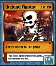 Lvl 26 - Undead Fighter