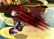 Dark Goddess dash attack