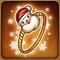 闪亮的圣诞老公公指环1 m