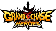 Grand Chase Rebirth of Heroes logo