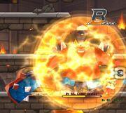 Monban eletric circle Attack circulo eletrico ataque
