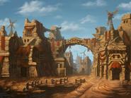 Desert Bandit's Village BG