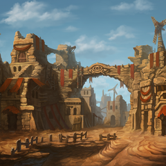 Vila dos Bandidos do Deserto