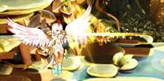 Light Goddess attack