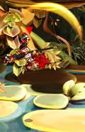 Asura Spinning Crane Kick