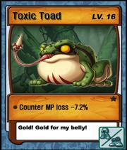 Lvl 16 - Toxic Toad