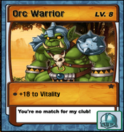 Lvl 8 - Orc Warrior