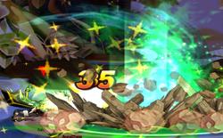 Zero Two Hand Smash