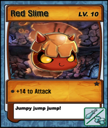 Lvl 10 - Red Slime