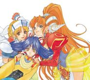 Grandia II Girls