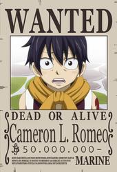 Wanted Cameron