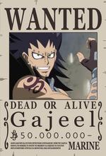 Wanted Gajeel 1