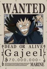 Wanted Gajeel 2