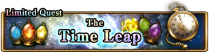 The Time Leap Banner