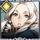 Daphia, Snow-white Gunner +1 Icon