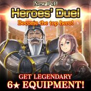 New PVP Heroes' Duel