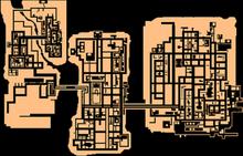 GTA A Liberty City Map