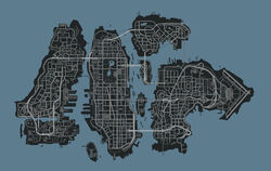 Liberty City Map HD