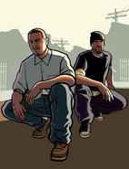 CJandSweet-GTASA-artwork