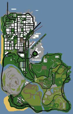 San Fierro Map