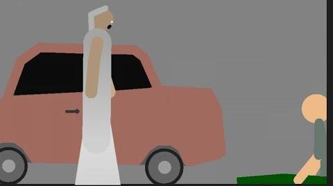 Granny (Car Game Over Scene) - Stick Nodes Animation-2
