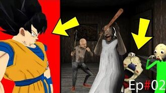 """Goku"" Dragon Ball Z Come to revenge from granny,Baldi,Icescream2,Granpa, and get Sonic back Ep 02-0"
