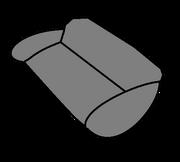 أريكة سوداء
