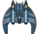 Federation Hawk Fighter Hull