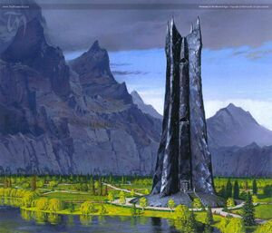 TN-Orthanc in the Second Age ted Nasmith