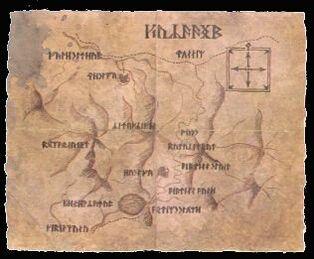 Karte Moria