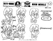 Model Sheets Gravedale High (2) KJBat