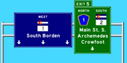 Highway 1 Westbound 2