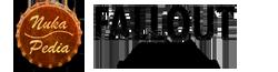 Nukapedia wordmark