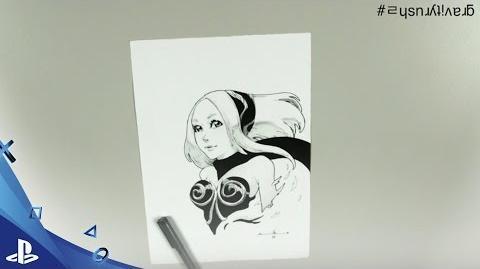 Cómo dibujar a Kat de Gravity Rush 2