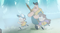 S1e2 mabel soos and dipper running