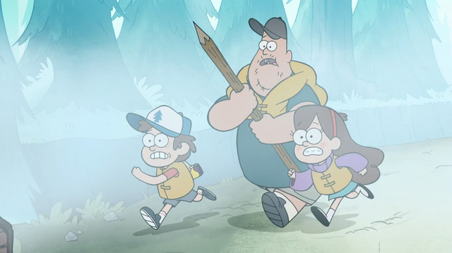 File:S1e2 mabel soos and dipper running.png