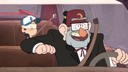 S1e2 dipper and stan in car
