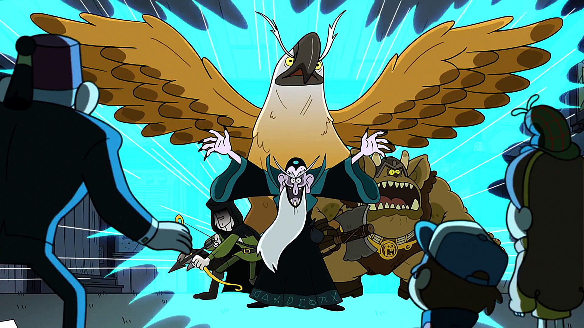 dungeons dungeons and more dungeons gravity falls wiki